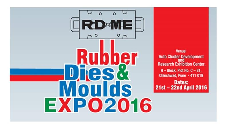 Rubber Dies & Mould Expo 2016